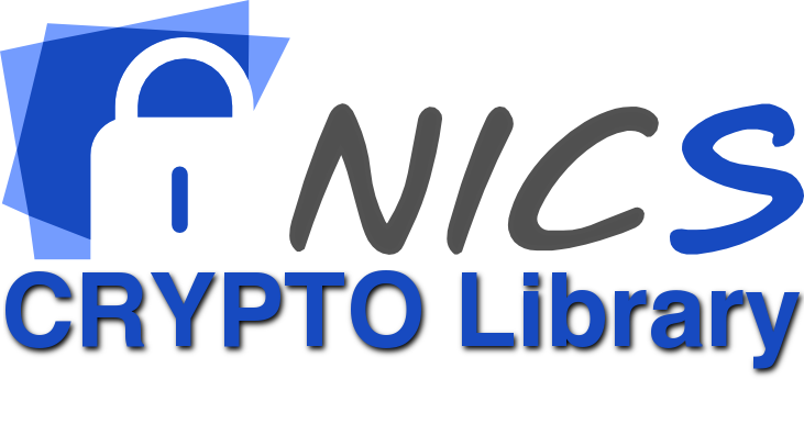 NICS Cryptography Library | Network, Information and