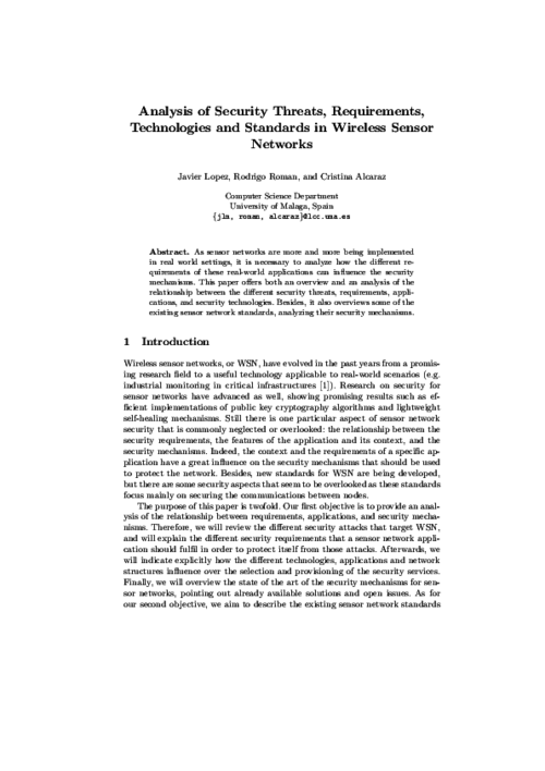 Wireless network research paper